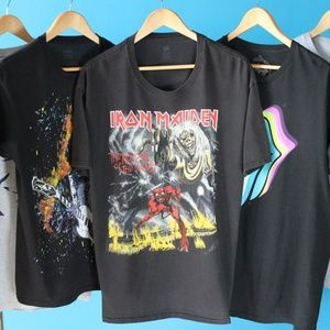 Iron Maiden The Number Of The Beast Band T-Shirt